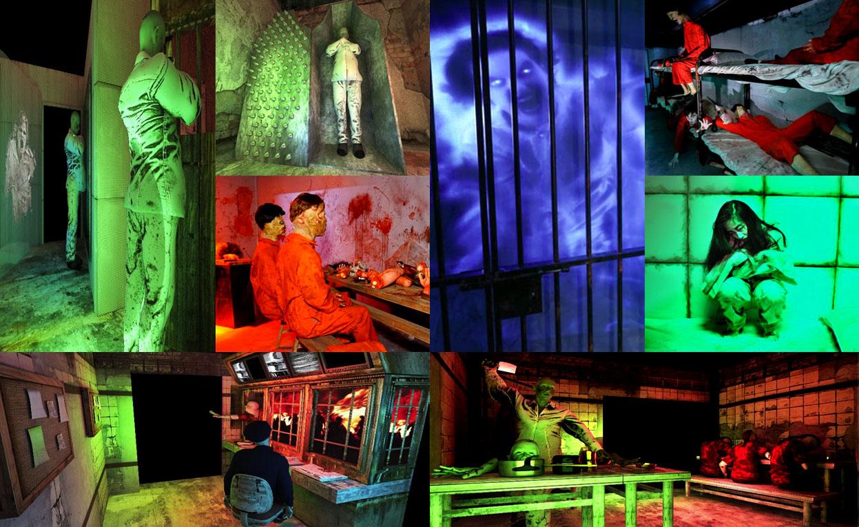 香港九龍樂富廣場領展黑色萬聖節全城哈囉喂「屍囚之路」lok fu plaza halloween