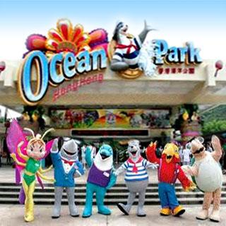 香港海洋主題樂園公園ocean park hong kong入場劵優惠套票