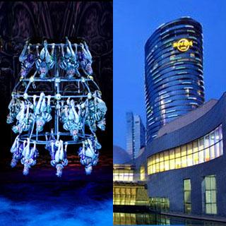 澳門硬石搖滾酒店住宿自助餐連新濠天地水舞間門票套票 city of dreams hotel hard rock macau dancing water buffet package