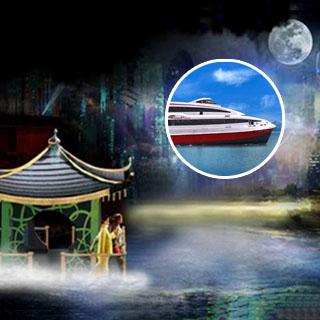澳門新濠天地優惠水舞間入場劵門票加來回金光飛航/turbojet噴射飛航船票優惠套票 city of dreams macau dancing water package